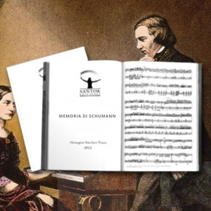 Sheet music for B flat clarinet - Memoria de Schumann