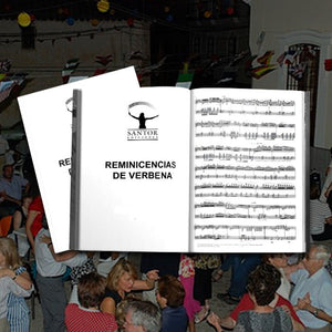 Reminiscencias de Verbena for cello and B flat clarinet. Georgina Sánchez Torres - Santor Ediciones