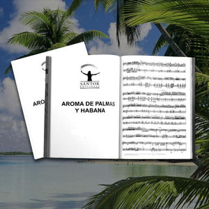 """Aroma de Palmas y Habana"" for cello and B flat clarinet. Georgina Sánchez Torres - Santor Ediciones"