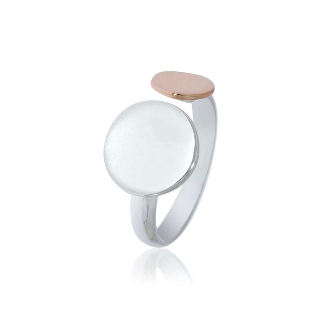 Onatah Double Disc Open Ring