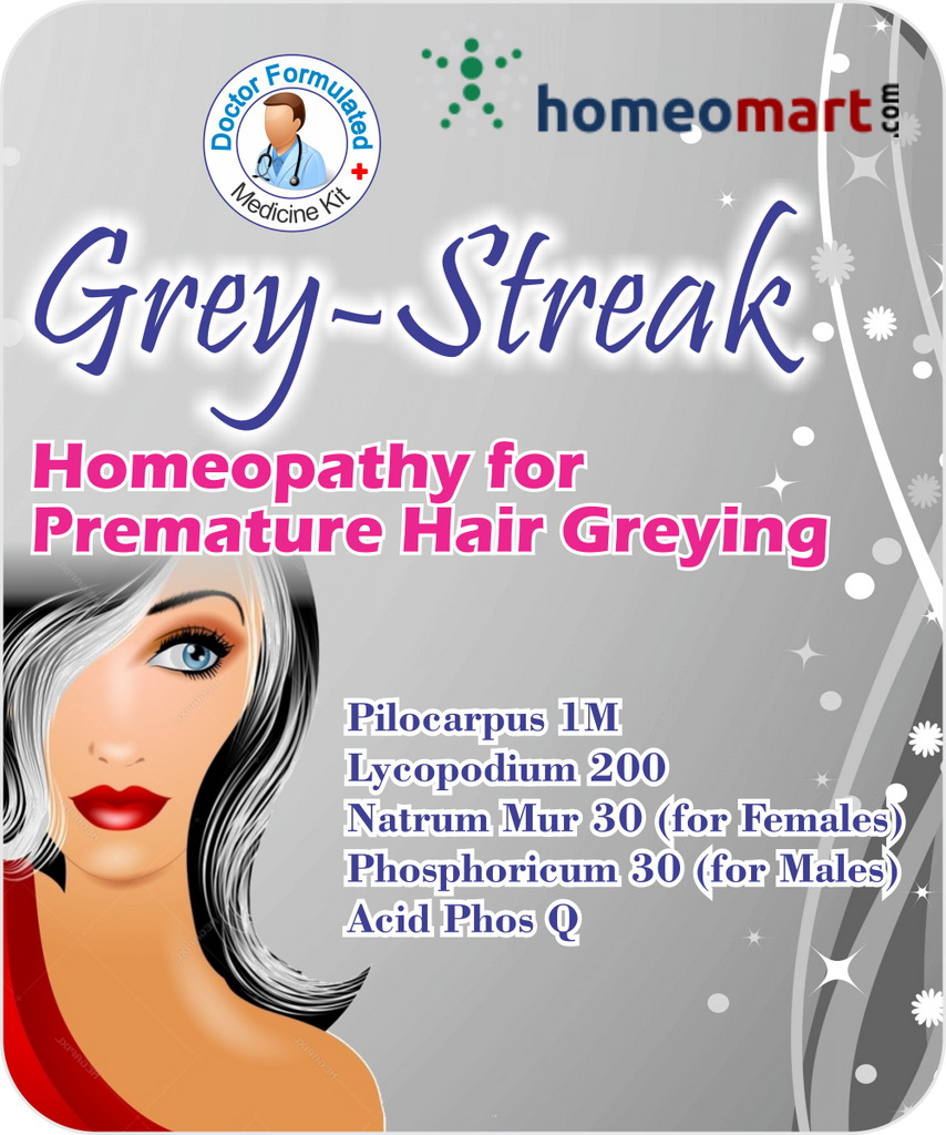 Treat premature Grey Hair with these top selling Homeopathy medicines