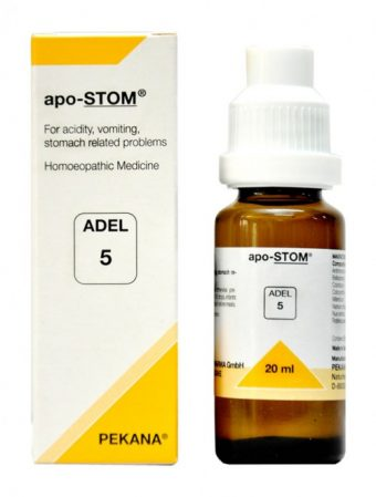 Adel 5 Apo-STOM drops for diseases related to digestive system