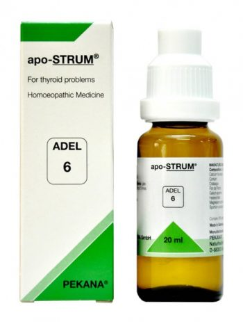 Adel 6 Apo-STRUM Drops for symptoms of thyroid problem