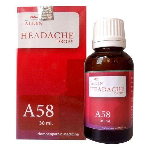 Allen A58 Headache Drops for Headache