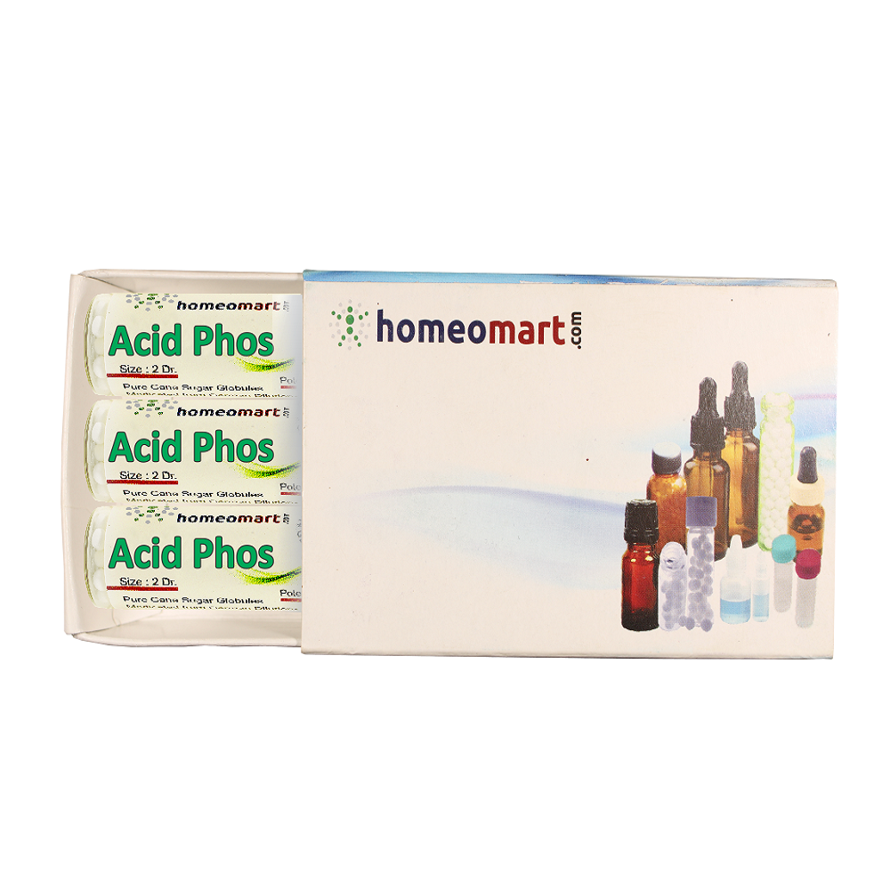Acidum Phosphoricum Homeopathy 2 Dram Pills 6C, 30C, 200C, 1M, 10M