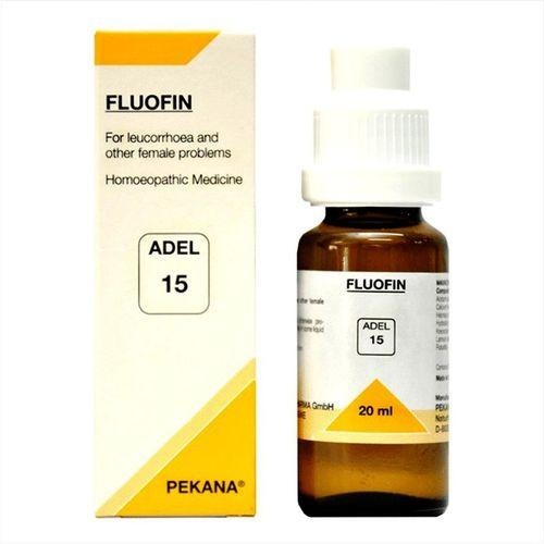 Adel 15 Fluofin drops for Leucorrhoea (Vaginal discharge)