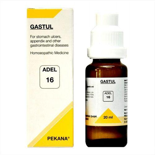 Adel 16 Gastul drops for Stomach Ulcers, Appendix, GI diseases
