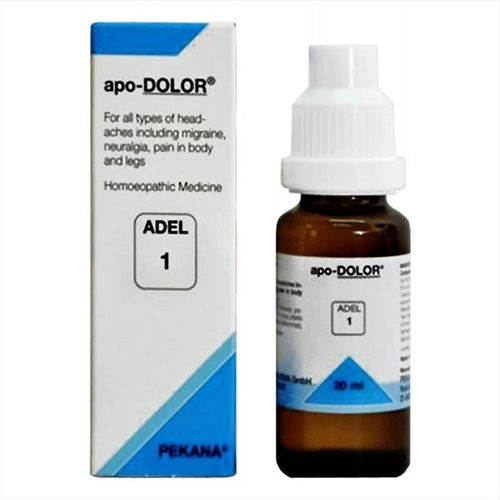 Adel 1 apo-DOLOR drops - Homeopathic medicines for headaches