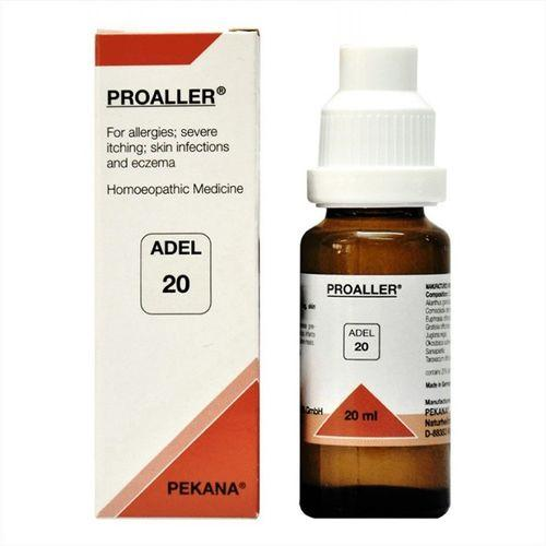 Adel 20 Proaller drops for for Allergies, Itching, Skin Infections & Eczema