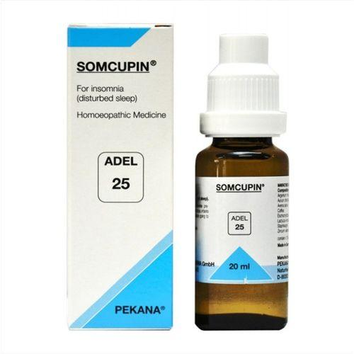 Adel 25 Somcupin drops for Insomnia (Disturbed Sleep)