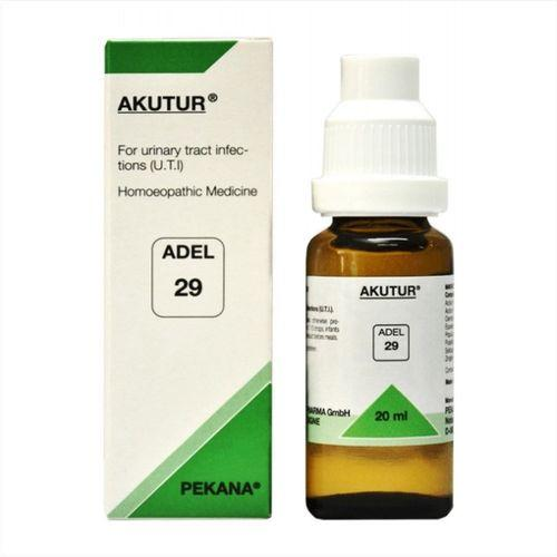 Adel 29 Akutur drops for Urinary Tract Infections (UTI), Cystitis, Urethritis