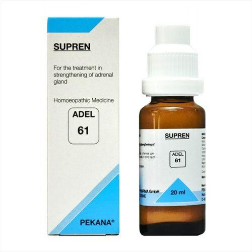 Adel 61 Supren drops for loss of appetite, gastrointestinal complaints, tiredness (weak adrenal gland)
