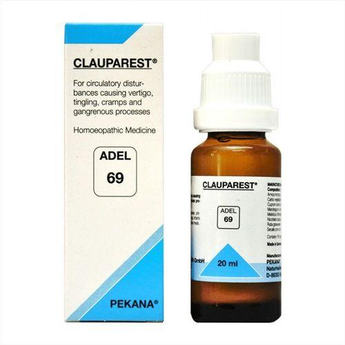 Adel 69 Clauparest drops for Vertigo, Tingling, Cramps, Gangrene (Circulatory disturbances)