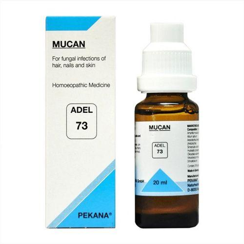 Adel 73 Mucan Drops for Fungal, Bacterial Infections of Hair, Nails & Skin