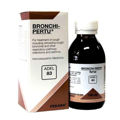 Adel 83 Bronchi Pertu Syrup for Cough, Whooping Cough, Resiratory pathway Infections, Asthma