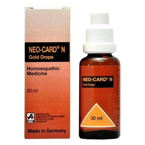 Neo-Card N drops for symptoms of heart problems