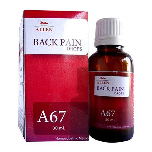 Allen A67 Back Pain Drops