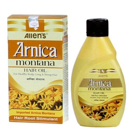 Allen Arnica Montana Hair Oil - Medicated Hair Root Stimulant