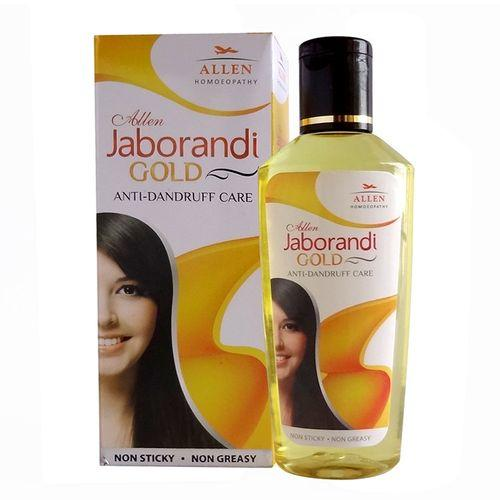 Allen Jaborandi Gold Hair Oil - Anti Dandruff Care