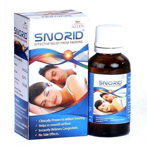 Allen Snorid drops for Snore Relief, Nasal Congestion, Snoring