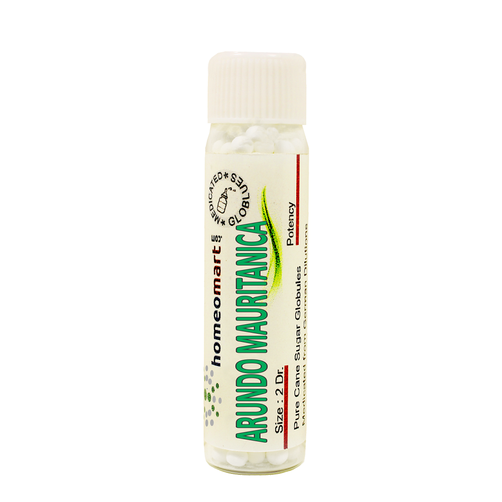 Arundo Mauri is a homeopathic medicine used in cases where sneezing is accompanied by itching in the nostrils