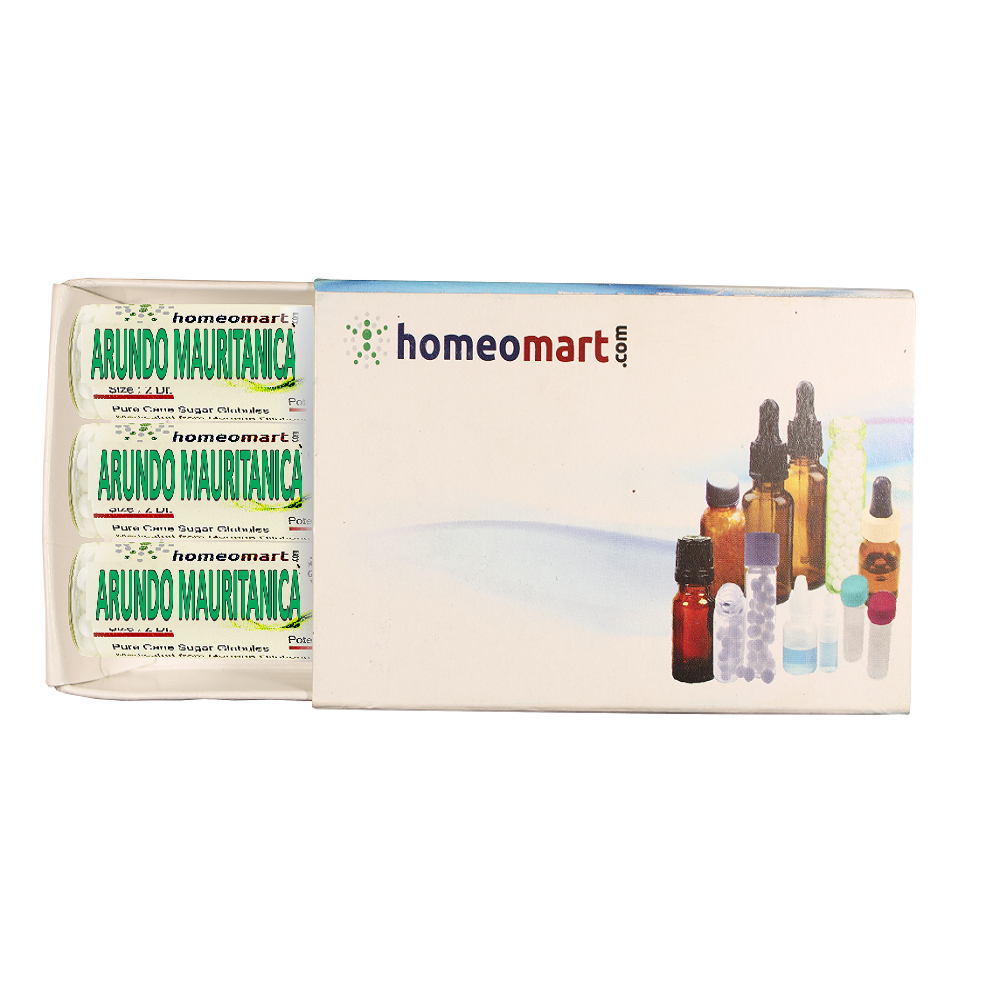 Arundo Mauri is the best choice when extreme itching in nose, eyes and throat predominate with sneezing and fluent nasal discharge