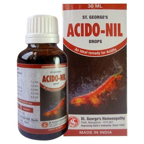 St George Acido -Nil Drops - An Ideal Remedy for Acidity