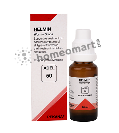 Adel 50 (HELMIN) worms drops for intestinal worms