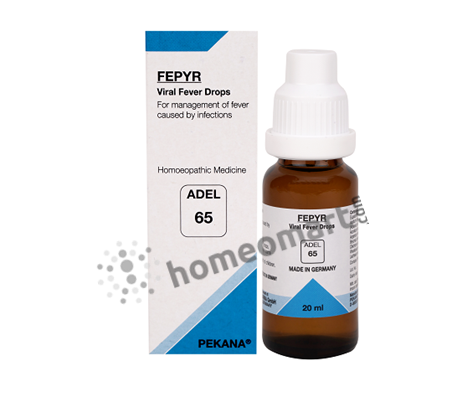 Adel 65 (FEPYR) Viral fever drops for fever
