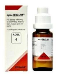 Adel 4 apo-RHEUM drops for symptoms of rheumatoid arthritis