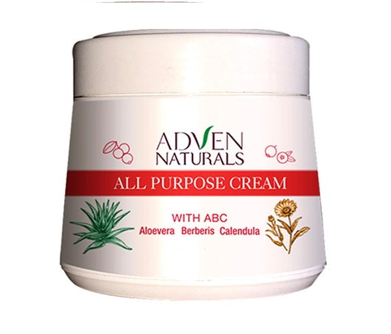 Adven Naturals all purpose cream with aloe vera, berberis, calendula