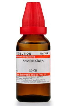 Aesculus Glabra Homeopathy Dilution 6C, 30C, 200C, 1M, 10M, CM