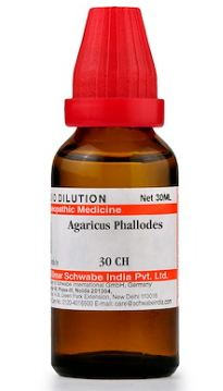 Agaricus Phalloides Homeopathy Dilution 6C, 30C, 200C, 1M, 10M, CM