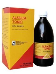 Adel Alfalfa Tonic with Ginseng for General Weakness, Appetite Loss