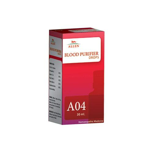 Allen A04 Homeopathy Drops for Blood Purifier