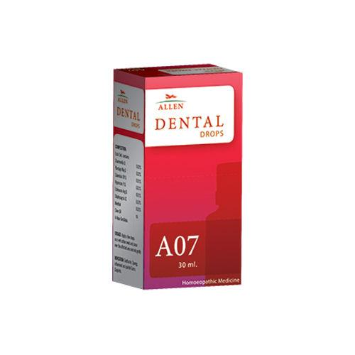 Allen A07 Homeopathic Dental Drops