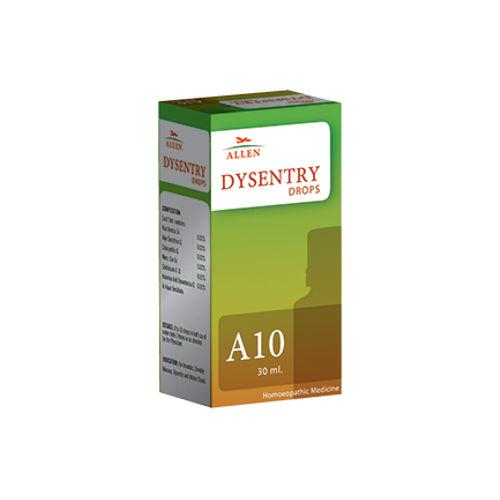 Allen A10 Homeopathy Drops for Dysentry