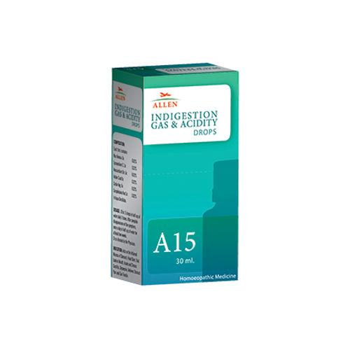 Allen A15 Indigestion, Gas, Acidity Drops