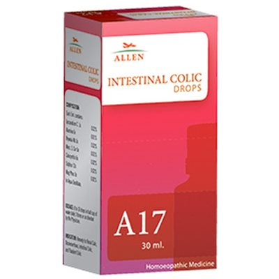 Allen A17, Homeopathic  Intestinal Colic Drops