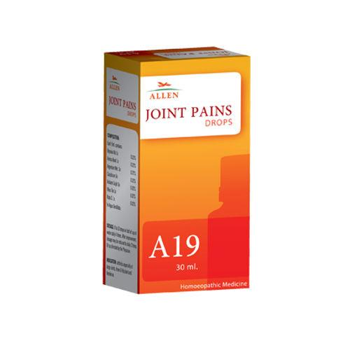 Allen A19 Homeopathy Drops for Joints Pains