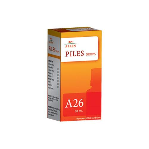 Allen A26 Homeopathy Drops for Piles