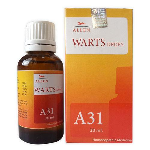 Allen A31 Homeopathic Drops for Warts