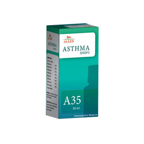 Allen A35 Homeopathy Drops for Asthma