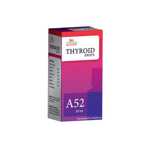 Allen A52 Homeopathy Drops for Thyroid