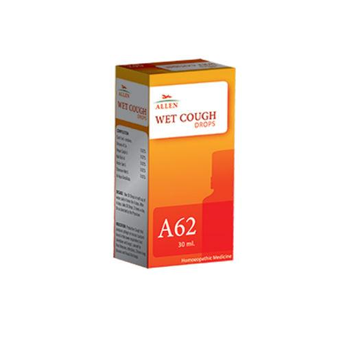 Allen A62 Wet Cough Drops