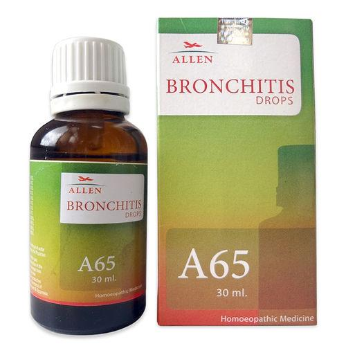 Allen A65 Homeopathic Drops for Bronchitis