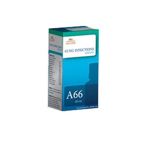 Allen A66 Lung Infections Drops