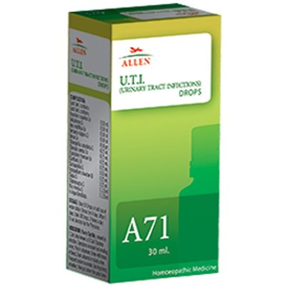 Allen A71 Homeopathic Drops for  Urinary Tract Infections (UTI)