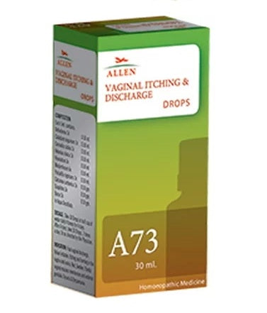 Allen A73 Drops, Vaginal Itching and Discharge Medicine