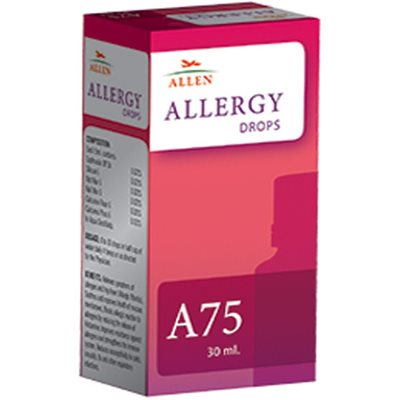 Allen A75 Drops, Homeopathy Allergy Medicine